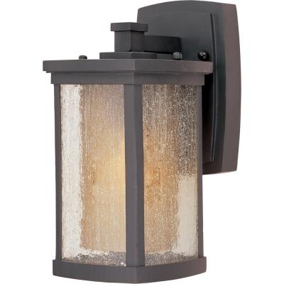 Maxim Lighting 85652CDWSBZ Bungalow EE - One Light Wall Mount