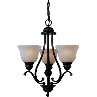 Maxim Lighting 85804 Linda EE - Three Light Chandelier
