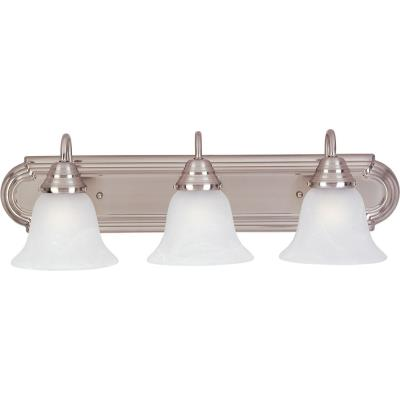 Maxim Lighting 85813MRSN Essentials EE - Three Light Bath Vanity