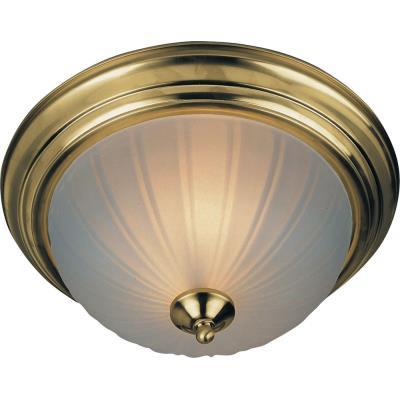 Maxim Lighting 85831 2 Light Flush Mount 13w Cfl Incl