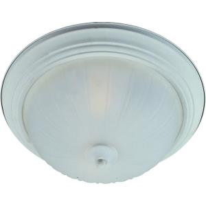 2 Light Flush Mount 13w Cfl Incl