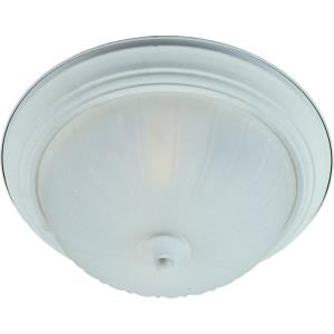 3 Light Flush Mount 13w Cfl Incl