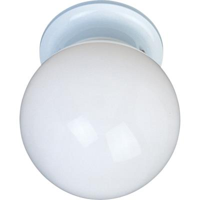 Maxim Lighting 85889 Utility EE - One Light Flush Mount