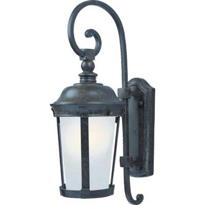 Maxim Lighting 86093FSBZ Dover ES - One Light Outdoor Wall Lantern
