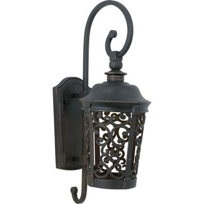 Maxim Lighting 86393BZ Whisper Dark Sky EE - One Light Outdoor Wall Mount