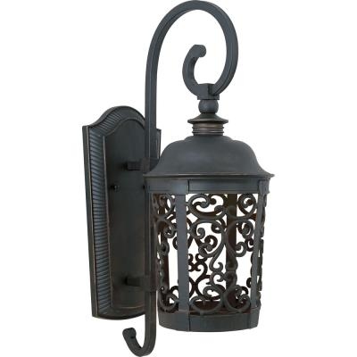 Maxim Lighting 86394BZ Whisper EE - One Light Outdoor Wall Mount