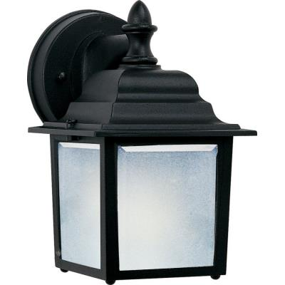 Maxim Lighting 86924BK Side Door - One Light Outdoor Wall Lantern