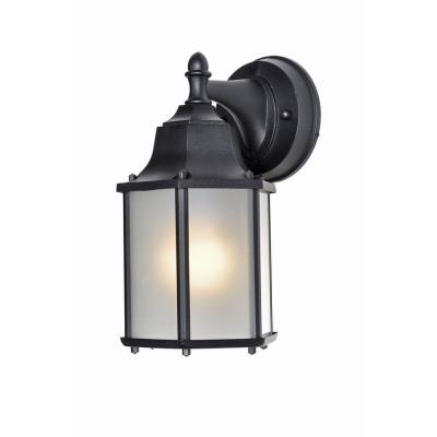 Maxim Lighting 86926BK Side Door - One Light Outdoor Wall Lantern