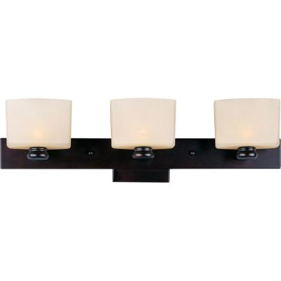 Maxim Lighting 9003DWOI Essence - Three Light Bath Vanity