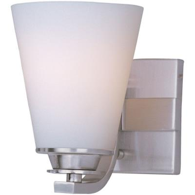 Maxim Lighting 9011SWSN Conical - One Light Bath Vanity