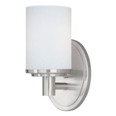 Maxim Lighting 9051SWSN Cylinder - One Light Bath Vanity
