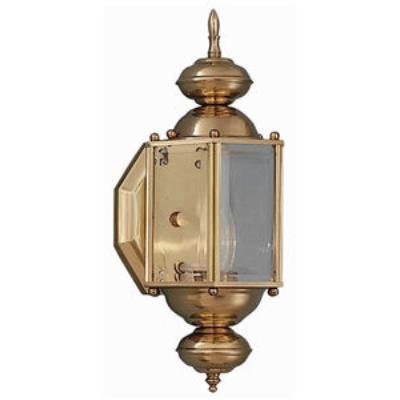 Maxim Lighting 3290 Builder Brass - One Light Outdoor Wall Mount