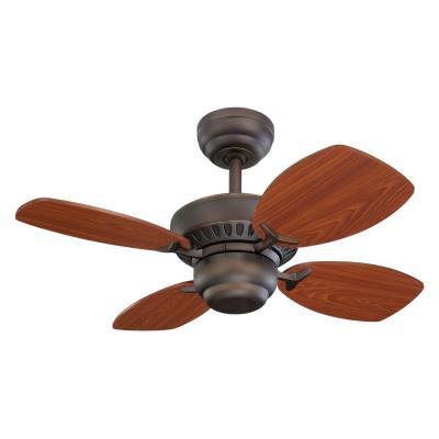 """Monte Carlo Fans 4CO28RB Colony II -28"""" Ceiling Fan"""