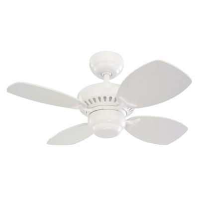 """Monte Carlo Fans 4CO28WH Colony II -28"""" Ceiling Fan"""