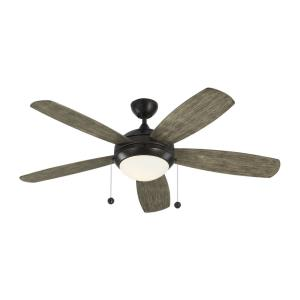 "Discus - 52"" Ceiling Fan with Light Kit"