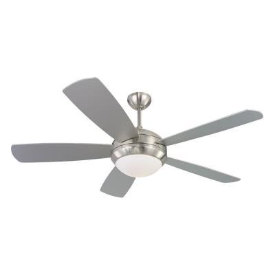 "Monte Carlo Fans 5DI52BSD-L Discus -52"" Ceiling Fan"