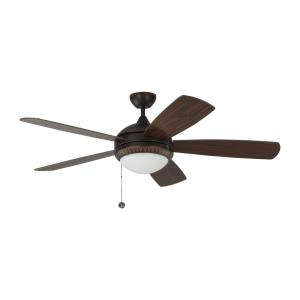 "Discus Ornate - 52"" Ceiling Fan with Light Kit"