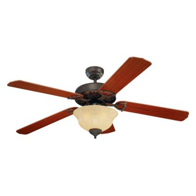 "Monte Carlo Fans 5OR52RBD-L Ornate Elite -52"" Ceiling Fan"