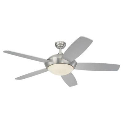 """Monte Carlo Fans 5SLR52BSD-B Sleek -52"""" Ceiling Fan"""