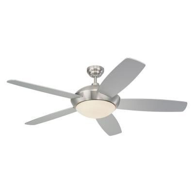 "Monte Carlo Fans 5SLR52BSD-B Sleek -52"" Ceiling Fan"