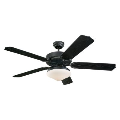 Monte Carlo Fans 5WF52BKD-L Weatherford Deluxe - 52'' Outdoor Ceiling Fan