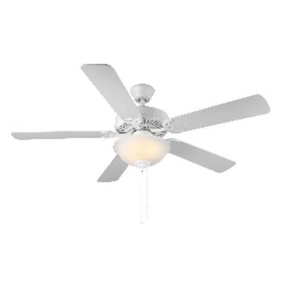 "Monte Carlo Fans BF2-WH Home Builder II - 52"" Ceiling Fan"