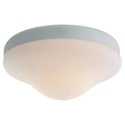 Monte Carlo Fans MC07PWH-B Opal Teardrop - Two Light Kit