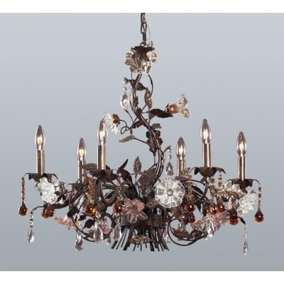 Elk Lighting 85002 Cristallo Fiore Chandelier