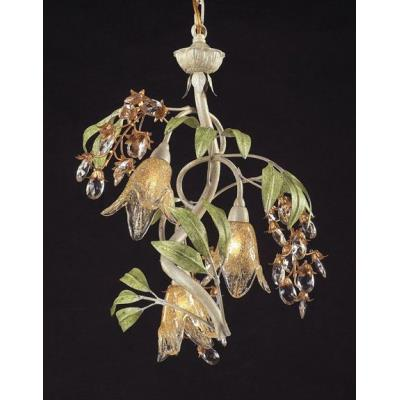 Elk Lighting 86051 Huarco - Three Light Chandelier