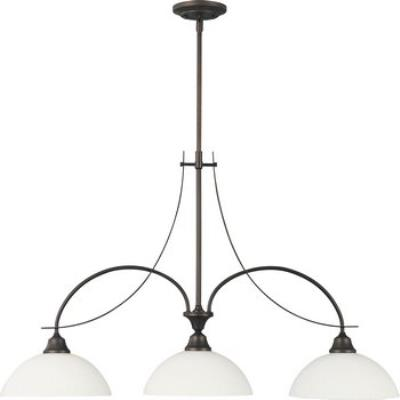 Feiss F1886/3ORB Boulevard 3 Light Island Fixture