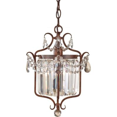 Feiss F2473/1 Gianna Scuro - One Light Mini Duo Chandelier