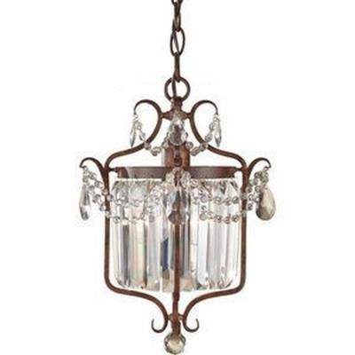 Feiss F2473/1MBZ Gianna Scuro - One Light Mini Duo Chandelier