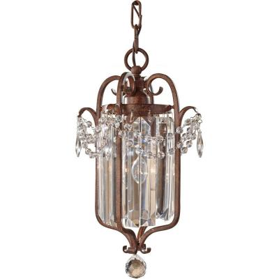 Feiss F2474/1 Gianna Scuro - One Light Mini Duo Chandelier