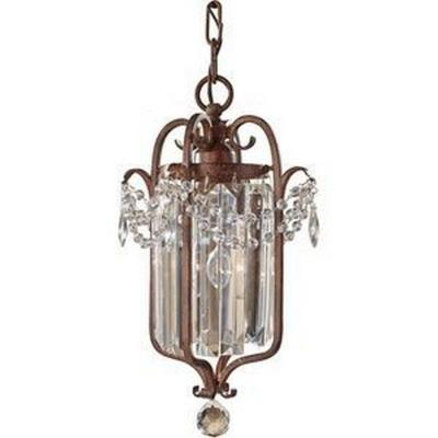 Feiss F2474/1MBZ Gianna Scuro - One Light Mini Duo Chandelier