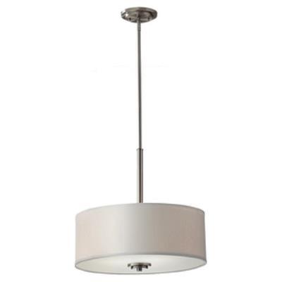 Feiss F2771/3BS Kincaid - Three Light Pendant