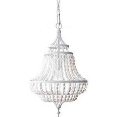Feiss F2799/1WSG Maarid - One Light Mini Chandelier