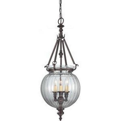 Feiss F2800/3ORB Luminary - Three Light Hall Chandelier