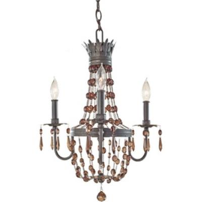Feiss F2806/3RI Marcia - Three Light Chandelier