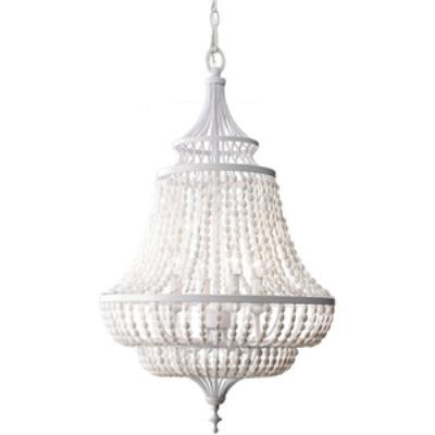 Feiss F2807/4WSG Maarid - Four Light Chandelier