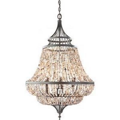 Feiss F2808/6RI Maarid - Six Light Chandelier