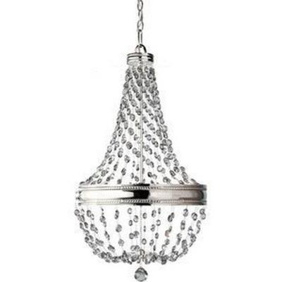 Feiss F2811/6PN Malia - Six Light Chandelier
