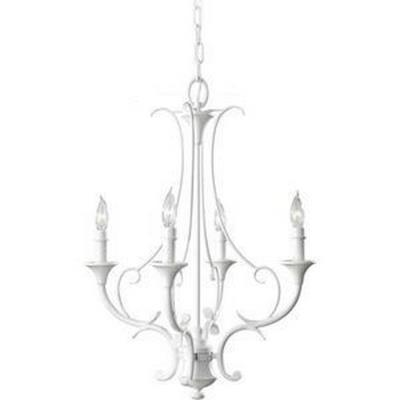 Feiss F2820/4SGW Peyton Saltspray - Four Light Mini Chandelier