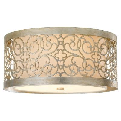 Feiss FM339SLP Arabesque - Two Light Flush Mount