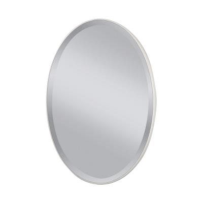 "Feiss MR1126WM Johnson - 36"" Oval Mirror"
