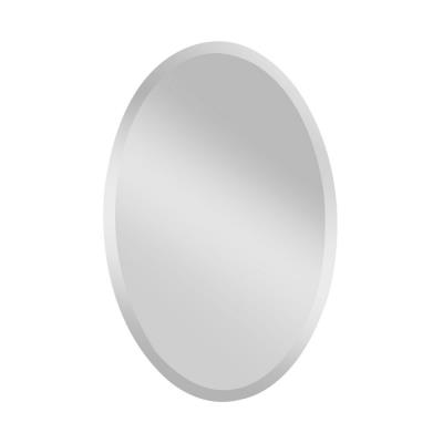 """Feiss MR1153 Infinity - 24"""" Oval Mirror"""