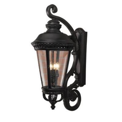 Feiss OL1905BK Wall Lantern