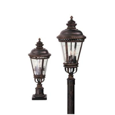 Feiss OL1907GBZ Pier/Post Lantern