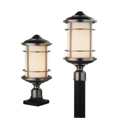 Feiss OL2207BB Pier/Post Lantern