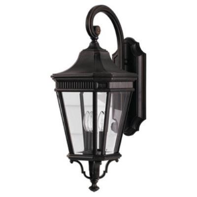 Feiss OL5402GBZ Cotswold Lane - Three Light Outdoor Wall Lantern