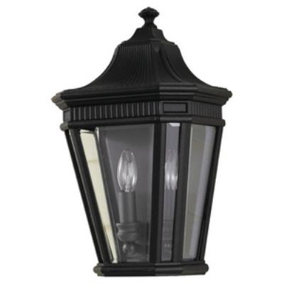 Feiss OL5403BK Cotswold Lane - Two Light Outdoor Wall Lantern